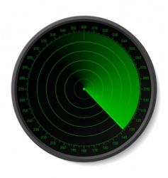 sonar scope vector image