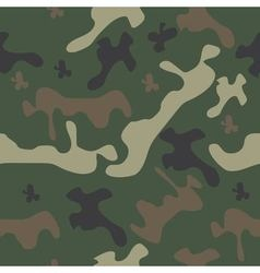 seamless pattern camo vector image