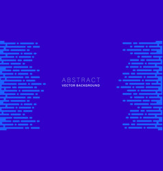blue abstract background with dot and dash vector image