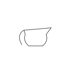 Cofee pot icon vector
