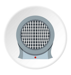 Computer power supply fan icon circle vector