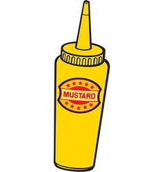 Mustard icon vector