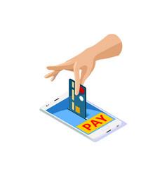 Online discount icon vector