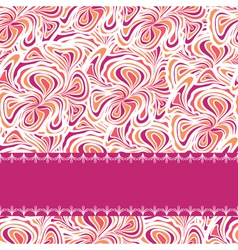 orange purplepattern with stripe vector image vector image