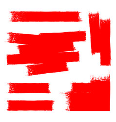 red paint background vector image