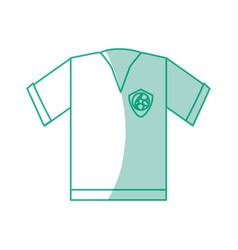 Soccer sport wear vector