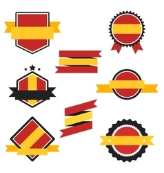 World Flags Series Flag of Spain vector