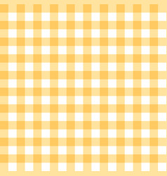 Yellow tablecloth texture seamless background vector