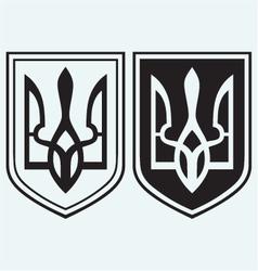 Coat of Arms of Ukraine vector image