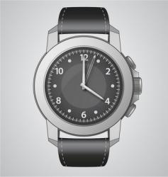 analog watch vector image vector image