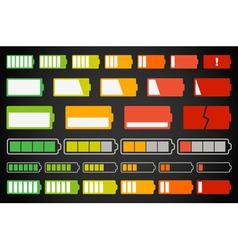 Battery Meter vector image