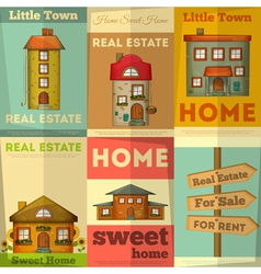 home posters vector image