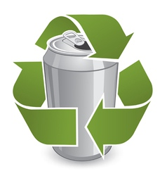 Recycle Can vector image