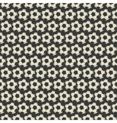 Soccer seamless pattern vector image