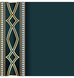 Background with precious stones vector