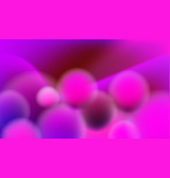 Background with purple 3d fluid elements vector