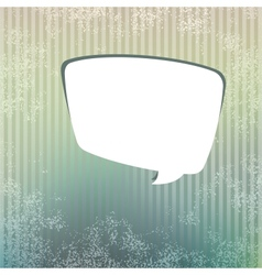 Background with speech bubble EPS8 vector image