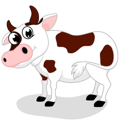 Cow Farm cartoon vector