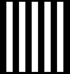 Halloween pattern black and white vertical strips vector