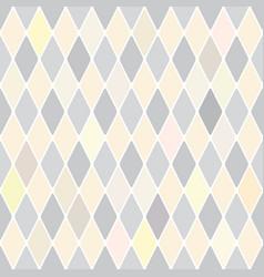 Harlequins silver selenium pattern vector
