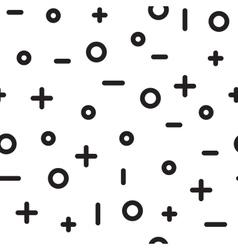 Universal fashion geometric seamless vector image