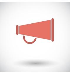Horn single icon vector image