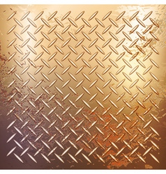 Rusty metal background vector image