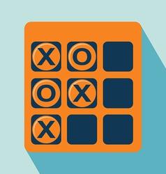 Tic Tac Toe Icon vector image