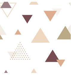 abstract geometric seamless pattern scandinavian vector image