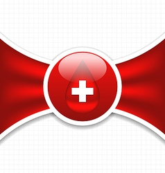 Abstract medical background blood donation vector
