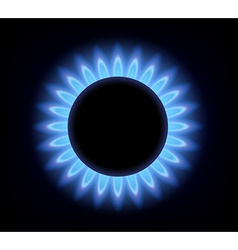 Gas burner vector