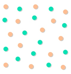 Green Orange Circle Abstract White Background vector