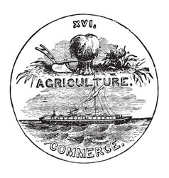 official seal us state tennessee in vector image