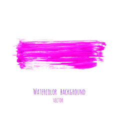 Pink magenta lilac grunge marble watercolor vector