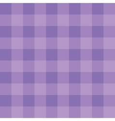 Purple checkered cloth vector image