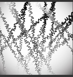 Random squiggly squiggle lines intersecting vector