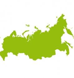 Russia map vector