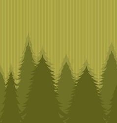 The wood on an original light green background vector image
