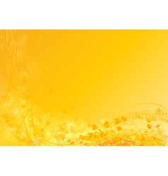 Sunny notes vector image