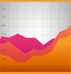 business colorful diagram vector image