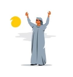Arab Cartoon vector image vector image