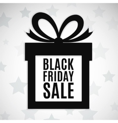 Black friday sale background vector image