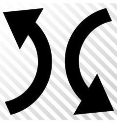 Exchange Arrows Icon vector