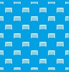 Hockey gate pattern seamless blue vector