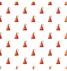 party hat pattern vector image