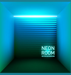retro 80s blue neon backdrop vector image