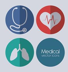 stethoscope design vector image