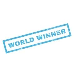 World Winner Rubber Stamp vector
