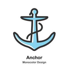 Anchor monocolor vector