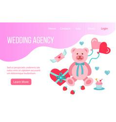 Design website landing page or presentation vector
